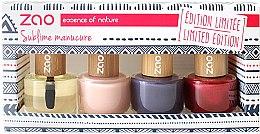 Parfumuri și produse cosmetice Set - Zao Limited Edition Christmas Nail Polish Box