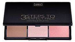 Parfumuri și produse cosmetice Set pentru conturarea feței - Wibo 3 Steps to Perfect
