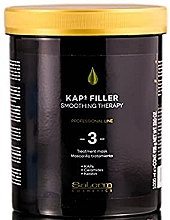Parfumuri și produse cosmetice Mască pentru păr - Salerm Kaps Filler Smoothing Smoothing Therapy 3 Mask