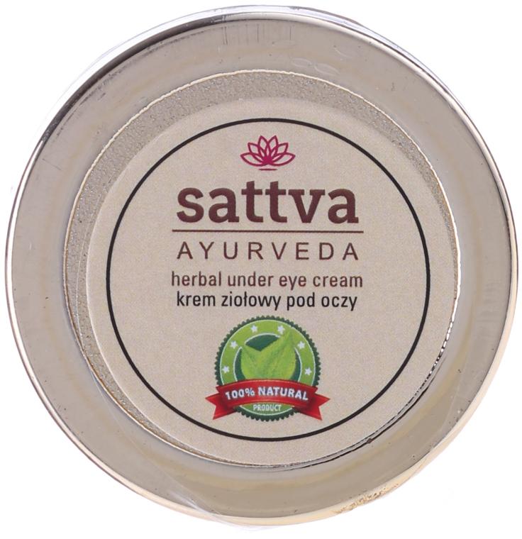 Cremă pentru zona ochilor - Sattva Ayurveda Under Eye Cream — Imagine N2