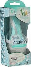 Parfumuri și produse cosmetice Aparat de ras+ 1 rezervă - Wilkinson Sword Intuition Sensitive Care