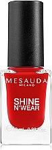 Parfumuri și produse cosmetice Lac de unghii - Mesauda Milano Shine N`Wear Nail Polish