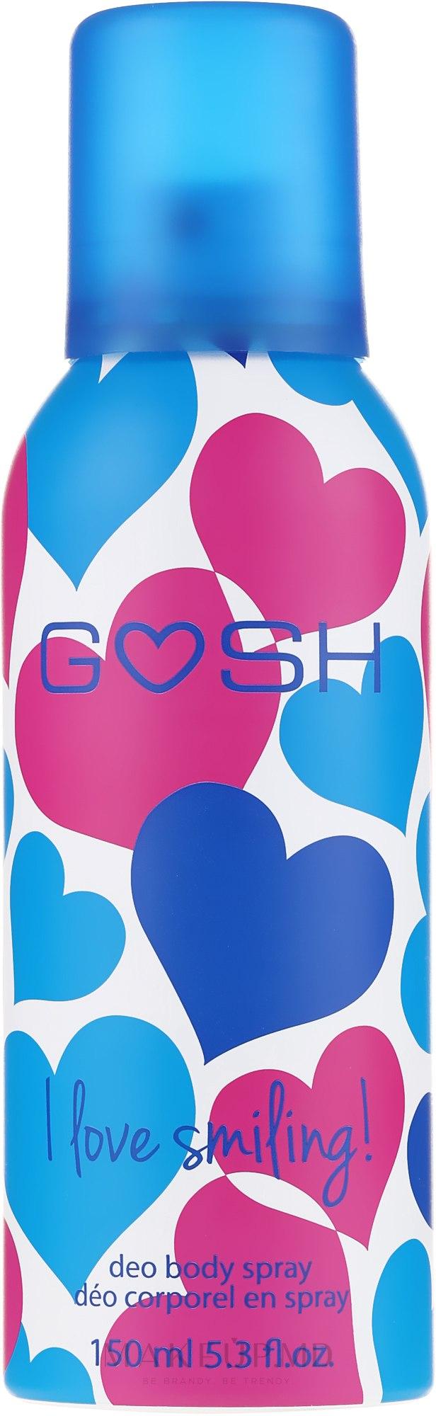 Deodorant-spray - Gosh I Love Smiling Deo Body Spray — Imagine 150 ml