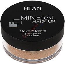 Parfumuri și produse cosmetice Pudră minerală de față - Hean Mineral Make Up Cover&Matte Loose Mineral Powder