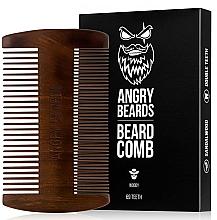 Parfumuri și produse cosmetice Pieptene din lemn pentru barbă - Angry Beards Beard Comb