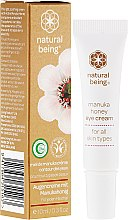 Parfumuri și produse cosmetice Cremă pentru zona din jurul ochilor - Natural Being Manuka Honey Eye Cream