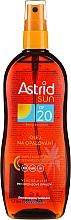 Parfumuri și produse cosmetice Масло-спрей для загара SPF20 - Astrid Sun Suncare Spray Oil SPF20