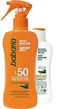 Parfumuri și produse cosmetice Set - Babaria Sun (b/spray/200ml + balm/100ml)