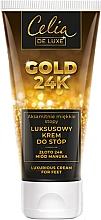 Духи, Парфюмерия, косметика Роскошный крем для ног - Celia De Luxe Gold 24K Luxurious Foot Cream