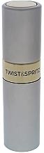 Parfumuri și produse cosmetice Atomizor - Travalo Twist and Spritz Atomiser Silver