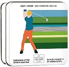 """Parfumuri și produse cosmetice Săpun de corp """"Golf"""" , în cutie de metal - Scottish Fine Soap In A Tin Golf"""