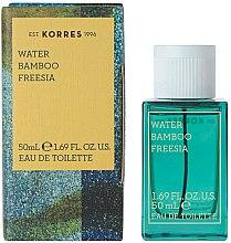 Parfumuri și produse cosmetice Korres Water Bamboo Freesia - Apă de toaletă