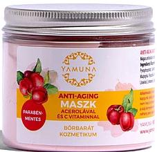 Parfumuri și produse cosmetice Mască anti-îmbătrânire cu acerola și vitamina C - Yamuna Anti-aging Mask With Acerola And C-vitamin