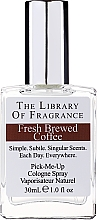 Parfumuri și produse cosmetice Demeter Fragrance The Library of Fragrance Fresh Brewed Coffee Pick-Me-Up Cologne Spray - Одеколон