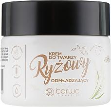 Parfumuri și produse cosmetice Cremă pe bază de orez pentru față - Barwa Naturalna