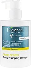 Parfumuri și produse cosmetice Balsam anticelulită pentru corp - Bielenda Professional Med Technology Massage Body Balm