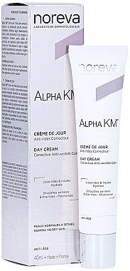 Cremă anti-îmbătrânire de zi pentru piele normală și uscată - Noreva Laboratoires Alpha KM Day Cream — Imagine N1