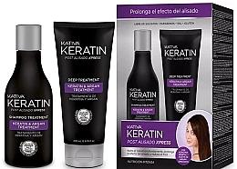 Parfumuri și produse cosmetice Set - Kativa Keratin (shm/250ml + cond/200ml)