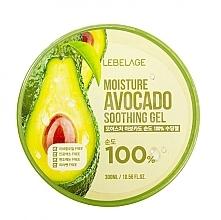 Parfumuri și produse cosmetice Gel pentru față - Lebelage Moisture Avocado 100% Soothing Gel