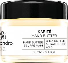 Parfumuri și produse cosmetice Ulei pentru mâini - Alessandro International Spa Hand Butter
