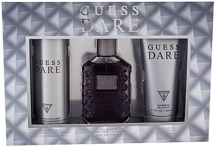 Guess Dare Men - Set (edt/100ml + deo/226ml + sh/gel/200ml)