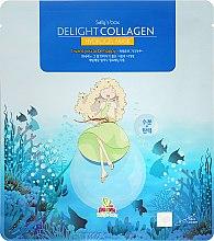 Parfumuri și produse cosmetice Mască cu colagen pentru față - Sally's Box Delight Collagen Hydrogel Mask