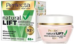 Parfumuri și produse cosmetice Cremă regenerantă antirid pentru față 65+ - Perfecta Natural Lift Regenerating Anti-wrinkle Cream