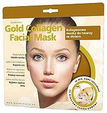 Parfumuri și produse cosmetice Mască de colagen cu aur pentru față - GlySkinCare Gold Collagen Facial Mask