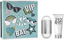 Parfumuri și produse cosmetice Carolina Herrera 212 NYC - Set (edt/100ml + b/lot/100ml)