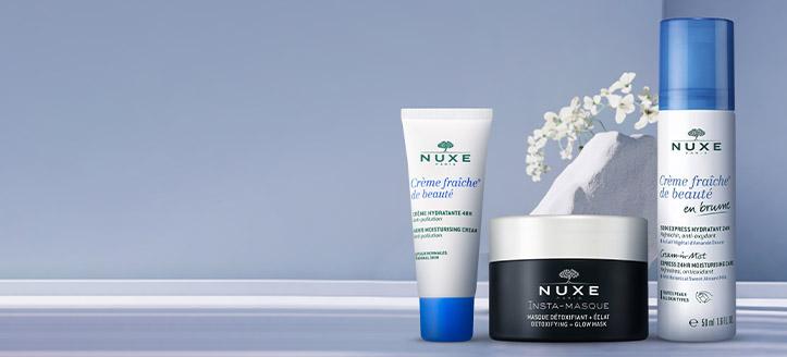 La achiziționarea produselor NUXE începând cu suma de 448 MDL, primești cadou o cremă hidratantă pentru față