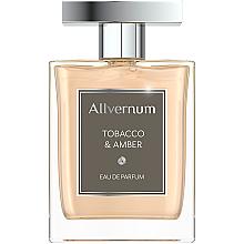 Allvernum Tobacco & Amber - Набор (edp/100ml + sh/gel/200ml) — фото N3