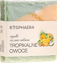"Parfumuri și produse cosmetice Sapun natural ""Fructe tropicale"" - Bosphaera"