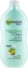 "Parfumuri și produse cosmetice Lapte de corp ""Olive"" - Garnier Body Hydration 7 Days Body Milk"