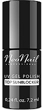 Parfumuri și produse cosmetice Top coat pentru gel-lac, cu protecție solară - NeoNail Professional Top Sunblocker