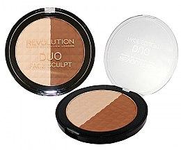 Parfumuri și produse cosmetice Pudră pentru conturarea feței - Makeup Revolution Duo Face Sculpt