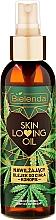 Parfumuri și produse cosmetice Ulei hidratant pentru corp - Bielenda Skin Loving Oil Moisturizing Body Oil Hemp