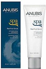 Parfumuri și produse cosmetice Scrub de față - Anubis Spa Red Fruit Scrub