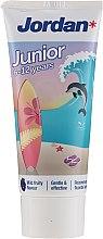 Parfumuri și produse cosmetice Pastă de dinți 6-12 ani, delfin - Jordan Junior Toothpaste
