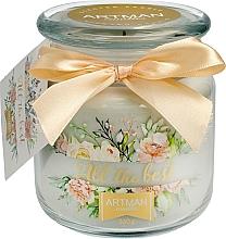 Parfumuri și produse cosmetice Lumânare parfumată, 10x11 cm, 360g - Artman All the Best