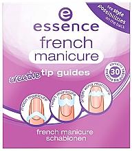 Parfumuri și produse cosmetice Шаблоны для французского маникюра - Essence French Manicure Creative Tip Guides