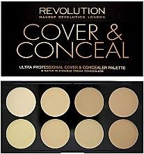 Parfumuri și produse cosmetice Concealer de față - Makeup Revolution Ultra Cover and Conceal Palette