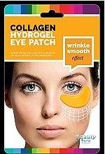 Parfumuri și produse cosmetice Mască de colagen cu acid hialuronic pentru zona ochilor- Beauty Face Collagen Hydrogel Eye Mask