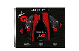 Parfumuri și produse cosmetice Instituto Espanol Aire de Sevilla Si Quiero - Set (edt/150ml + s/g/150ml + b/cr/150ml)