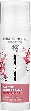 Parfumuri și produse cosmetice Cremă de noapte, cu extract de sakura pentru pielea sensibilă - Green Feel`s Pure Sensitive Night Face Cream