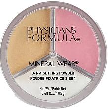 Parfumuri și produse cosmetice Pulbere de fixare pentru față - Physicians Formula Mineral Wear 3-In-1 Setting Powder