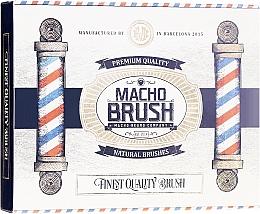Parfumuri și produse cosmetice Pieptene pentru barbă, oval - Macho Beard Company Macho Brush