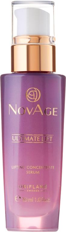 Ser-lifting pentru față și gât - Oriflame NovAge Ultimate Lift Lifting Concentrate Serum — Imagine N2