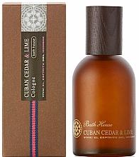 Parfumuri și produse cosmetice Bath House Cuban Cedar & Lime - Apă de colonie