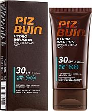 Parfumuri și produse cosmetice Cremă-gel cu protecție solară pentru față - Piz Buin Hydro Infusion SPF 30