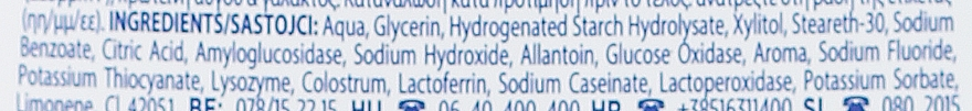 Agent de clătire pentru cavitatea bucală, fără alcool - Zendium Complete Protection — Imagine N3